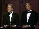 Robert Benton and Peter Shaffer winning Writing Oscars®