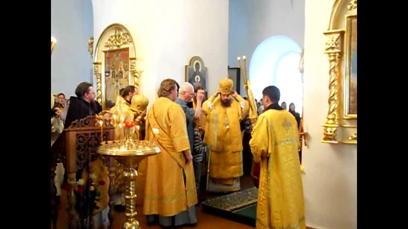 Крестный ход с мощами прп.Феодора (7). Санаксарский монастырь (2011 г.)