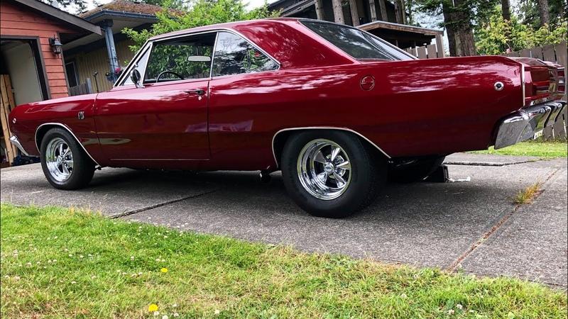 530 Hp 1968 Dodge Dart First Start Mopar 360 Cold Start