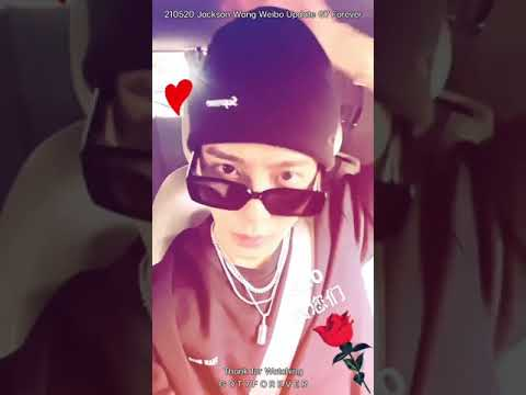 210520 Jackson Wang Weibo Update