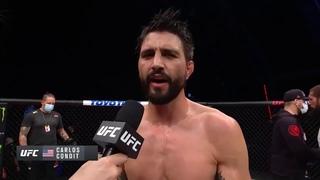 UFC Бойцовский остров 4: Карлос Кондит - Слова после боя