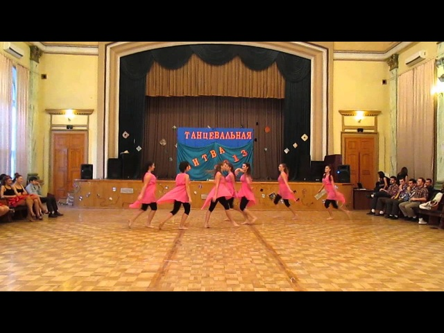Dance Battle 2013 ONAS rozovie devo4ki