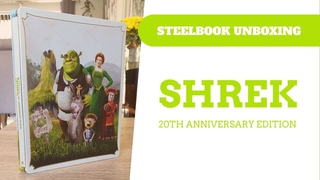 Shrek - Zavvi Exclusive 20th Anniversary Edition 4K Steelbook Unboxing