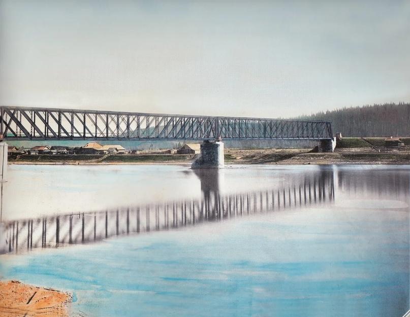 Первозданная железнодорожная Россия в цвете эпохи царской Империи глазами неизвестного фотографа, изображение №8