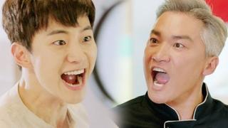 준호, 반항하는 조재윤 휘어잡는 '강렬 카리스마' 《Wok of Love》 기름진 멜로 EP05-06