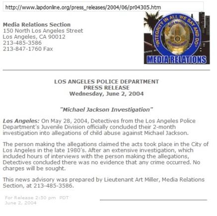 Роль СМИ в обвинениях против Майкла Джексона, изображение №2