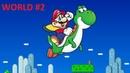 SNES Longplay - Super Mario World - WORLD 2: Donut Plains - [1080P 60 fps]