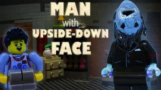 LEGO мультфильм ЧЕЛОВЕК С ПЕРЕВЕРНУТЫМ ЛИЦОМ/ The Man with Upside-Down Face horror stop motion