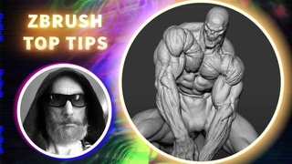 Quick Tips on Sculpting Anatomy - ZBrush Top Tips - Steve Lord