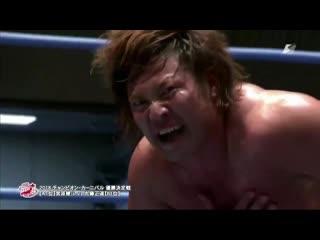 Naomichi Marufuji vs. Kento Miyahara -  (AJPW Champion Carnival 2018 - Day 15)