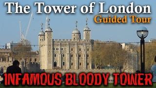The Tower of London   FULL WALKING TOUR   Historic London Castle