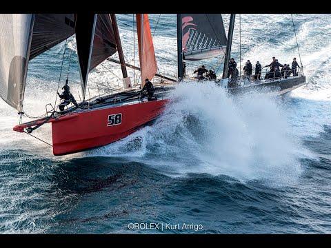 2019 Rolex Sydney Hobart Yacht Race - Line-Honours finish