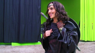 Wonder Woman 'Batman v Superman' Behind The Scenes [+Subtitles]