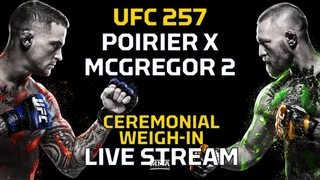 UFC 257: Poirier vs. McGregor 2 Ceremonial Weigh-In LIVE Stream - MMA Fighting