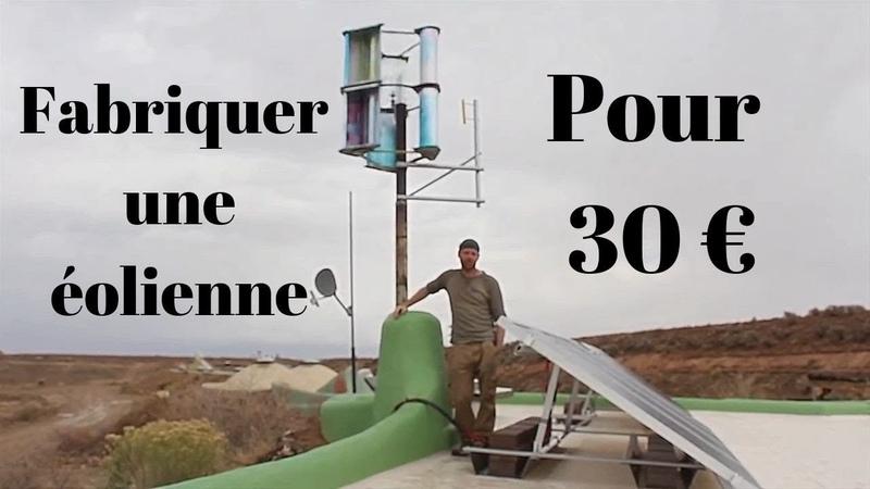 La Meilleure Éolienne Verticale pour 30 € Comment Fabriquer une éolienne soi même à la maison