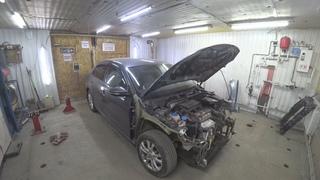 Volkswagen Jetta. Кузовной ремонт.