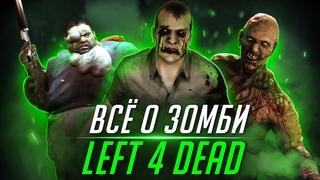 Все о Зараженных и Вирусе из игр Left 4 Dead 1, 2   Подборка видеороликов
