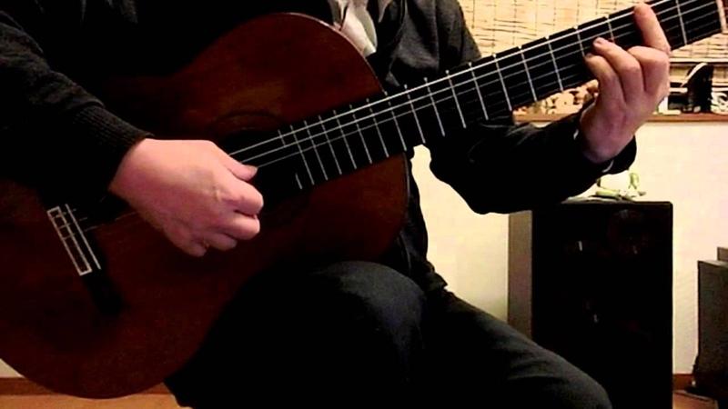 春よ、来い ギターソロ Haru yo Koi Longing for spring