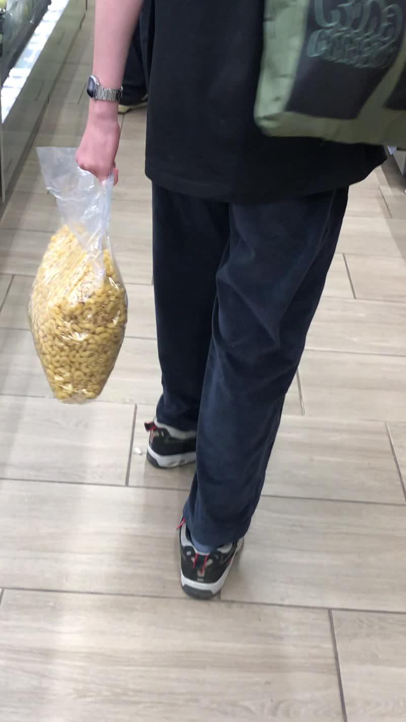 дед футболка и прикольная сумка с макаронами