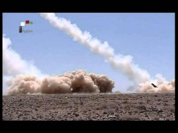 Syrian Arab Army Test Ballistic Long Range Missile HD 2012 07 11 مناورة صواريخ بالستية سورية