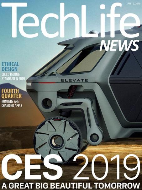 Book cover 2019-01-12 Techlife News  40 1  41