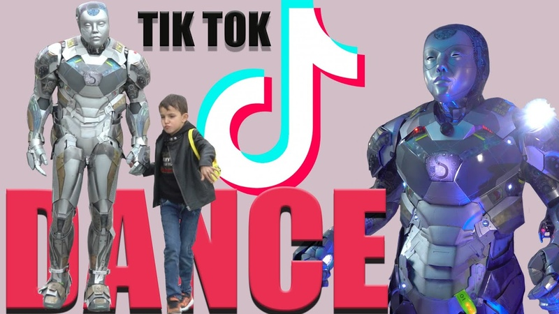 Best TikTok Dance Compilation From robot Stefo and Stefan