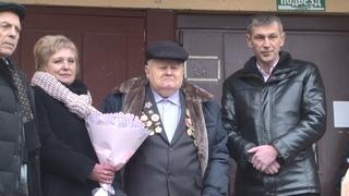 Поздравления ветерану. 95-летний юбилей отметил пинчанин Федор Петрович Боричевский