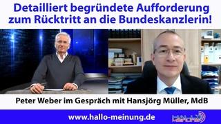 Detailliert begründete Aufforderung zum Rücktritt an die Bundeskanzlerin!