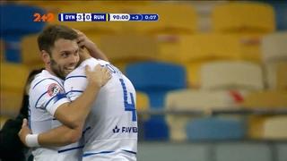 УПЛ | Чемпионат Украины по футболу 2021 | Динамо - Рух - 3:0. Видео гола Караваева (90`)