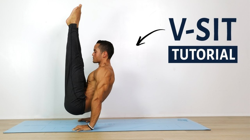 How to V-SIT - Calisthenics Routine (Follow Along)