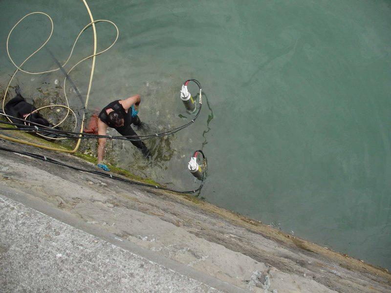 Гидравлический клин Darda может применяться даже в воде