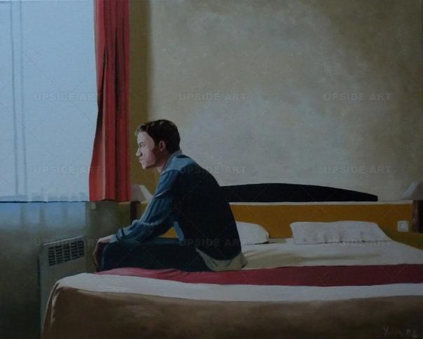 Иван Фавр (Yvan Favre) Чтобы понять эмоции, которые испытывает герой, нужно быть поистине мастером портрета или какого-либо другого жанра. Особенно если это не гиперреализм, а, можно сказать, не