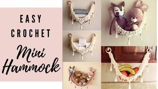 Easy Crochet Mini Hammock