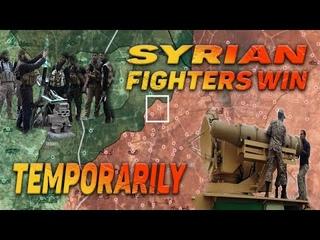 ИГ организовало серию атак и снова чуть не захватило город Ас Сухна