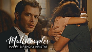 multicouples collab || high above the ground. [HBD KRISTA #1]