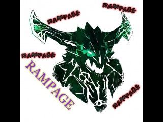 Dota 2 Outworld Devourer doing RAMPAGE