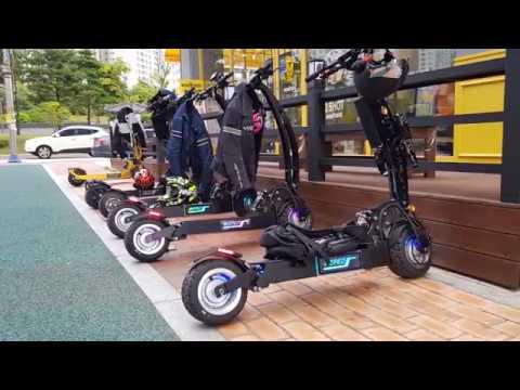 Electric scooter / WEPED RR / Factory starts