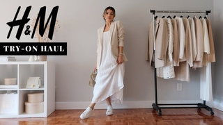 H&M SPRING - SPRING TRY-ON HAUL  |  NEW IN  | Samantha Guerrero