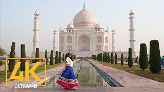 Taj Mahal, Agra, India in 4K UHD - Travel Journal - Top Asia Places