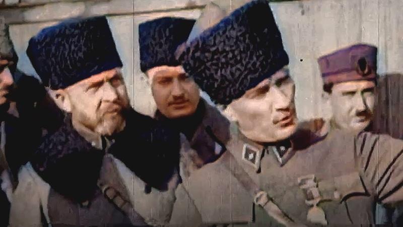 Gerçek Tarihi Arşiv Görüntülerle 26 Ağustos Büyük Taarruz'un Muhteşem Hikayesi Renklendirildi