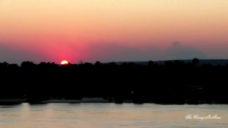 Закат в Экваториальной Африке по версии BBC Time Lapse Sunset HD 720p