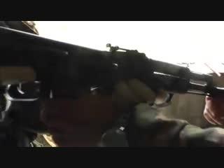 Российский спецназ показывает самооборону от автомата  💣