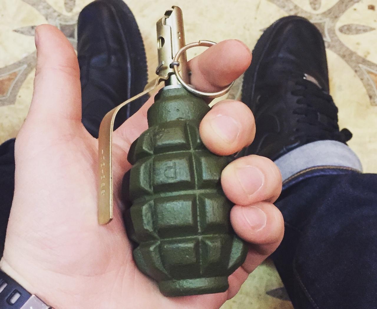В Донецке студент прошел в «вуз» с гранатой
