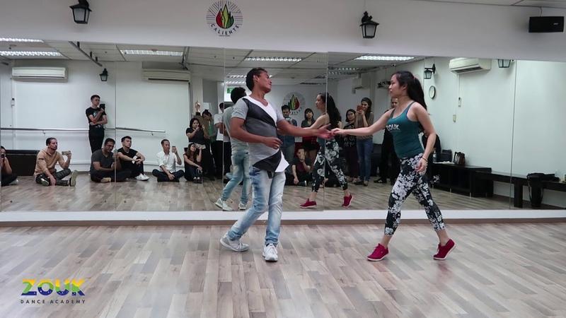 China Soulzouk ZoukRUSH Oct 2018 at Zouk Dance Academy Wed post workshop demo