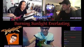 DragonForce LIVE Herman Li vs Stevie T Burning Sunlight Everlasting Shred Collab