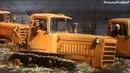 СТЗ ДТ-75, трактор-гусеничный из к/ф Русское поле 1971.