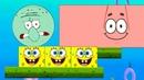 СПАНЧ БОБ против СКВИДВАРД в Spongebob Excludes Squidward. Губка Боб Квадратные Штаны на крутилкины