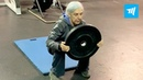 72 Years Old Woman Destroy Crossfit Gym Muscle Madness