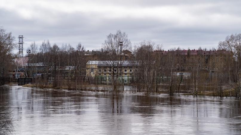 Паводок в Ухте: уровень воды понизился, изображение №2