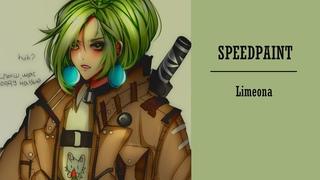 【SPEEDPAINT SAI】-limeona    Atinirilasss (Collab with Rossbree)